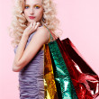 Girl with shopping bags — Stock Photo #4584008