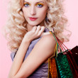 Girl with shopping bags — Stock Photo #4584012