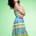 Beautiful curly girl — Stock Photo #4923246