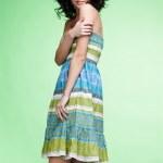 Beautiful curly girl — Stock Photo #4923251