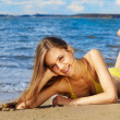 Summer girl — Stockfoto