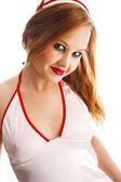 性的な看護師 — ストック写真