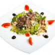 Salad with tuna - Stock Photo