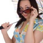 Girl in sunglasses — Stock Photo #3173571