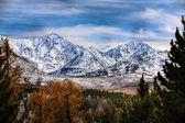 Autumn mountains — Foto Stock
