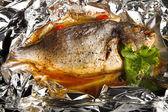 Pesce fritto — Foto Stock