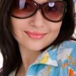 Girl in sunglasses — Stock Photo