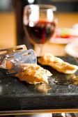 еда на столе — Стоковое фото