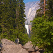 Stock Photo: Yosemite Valley Falls