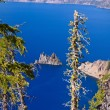 Phantom Ship, Crater Lake — Stock Photo #2717117