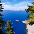 Постер, плакат: Phantom Ship Crater Lake