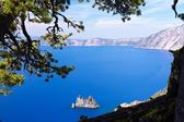 Phantom Ship, Crater Lake — Stock Photo