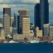 Seattle Skyline — Stock Photo