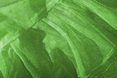 Green cloth mesh type — Stock Photo