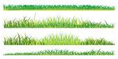 Realistic summer grass — Cтоковый вектор