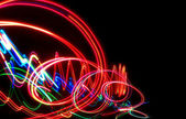 Abstract freezelight background — Stock Photo