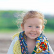Little smiling girl — Stock Photo