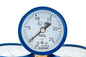 Oxygen pressure gauge — Stock Photo