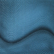 Royalty-Free Stock Photo: Blue wicker textured background