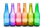 Six bottles — ストック写真