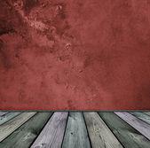Red vintage interior — Stock Photo