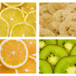 Tropical fruit background — Stock Photo #2943924