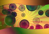 Fond de bulle ensoleillée — Photo
