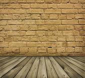 Brick wall — 图库照片