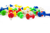 Colorful pins — Stock Photo