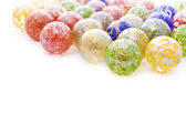 Colorful glass balls — Stock Photo