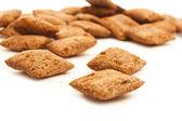 Corn cookies isolated — ストック写真