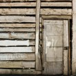 Vintage wooden door — Stock Photo #3265311