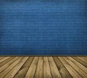 Blue interior — 图库照片