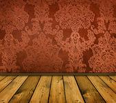Orange interior — 图库照片