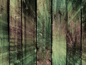 Vintage coloful wooden wall - more similar available — Stock Photo