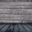 Vintage wooden interior - Foto Stock
