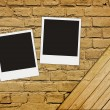 Blank photos — Stock Photo