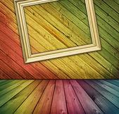 Interior de madera vintage — Foto de Stock