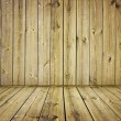 Vintage wooden wall - Photo