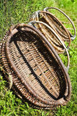 Baskets on grass — Stock Photo
