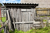 Vintage shed — Stock Photo