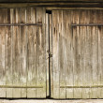 Wooden door — Stock Photo #3742908