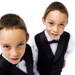 Young gangsters — Stock Photo