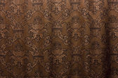Brown vintage curtain — Stock fotografie