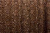 棕色复古窗帘 — 图库照片