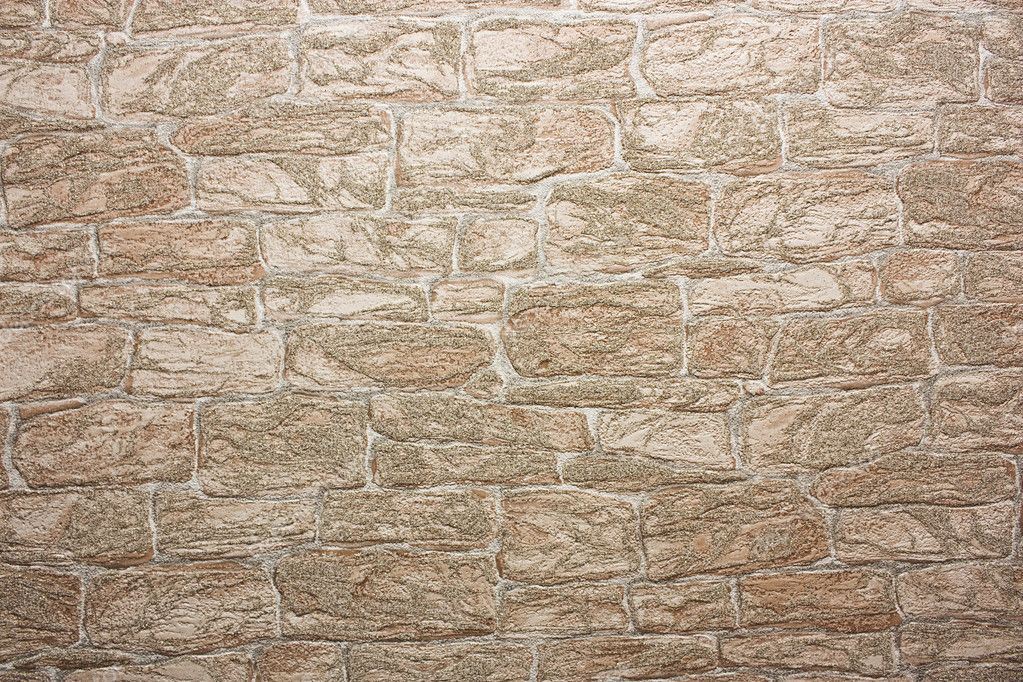 Vintage wallpeper in form of bricks — Stock Photo #3812150
