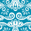Royalty-Free Stock Vector Image: Blue seamless pattern