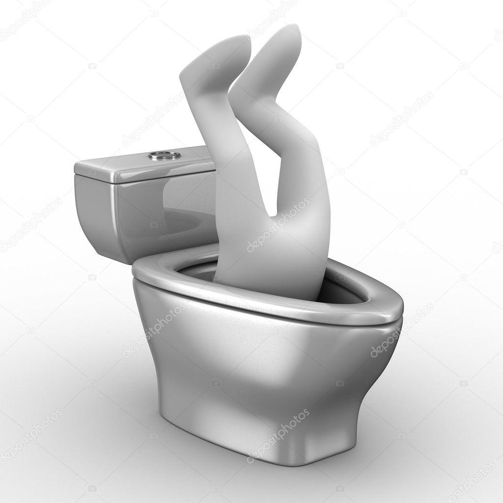 Унитаз для туалетного рабства 18 фотография