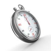 Stopwatch on white background — Stock Photo