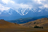 Altai mountains. Beautiful highland landscape — Stok fotoğraf